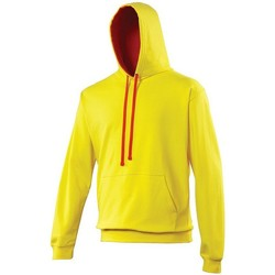 Vêtements Sweats Awdis Hooded Jaune / rouge