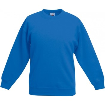 Vêtements Enfant Sweats Fruit Of The Loom Premium Bleu roi