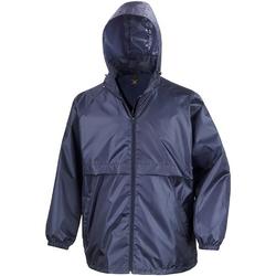 Vêtements Homme Coupes vent Result Windcheater Bleu marine