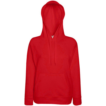 Vêtements Femme Sweats Fruit Of The Loom Hooded Rouge