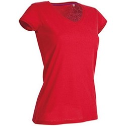 Vêtements Femme T-shirts manches courtes Stedman Stars Megan Rouge