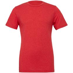 Vêtements Homme T-shirts manches courtes Bella + Canvas Triblend Rouge