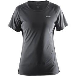 Vêtements Femme T-shirts manches courtes Craft Prime Gris foncé