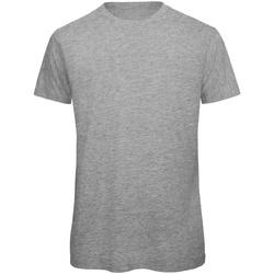 Vêtements Homme T-shirts manches courtes B And C Organic Gris