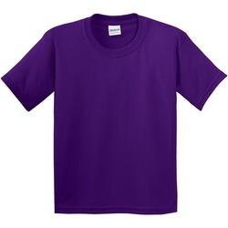 Vêtements Enfant T-shirts manches courtes Gildan 5000B Violet foncé