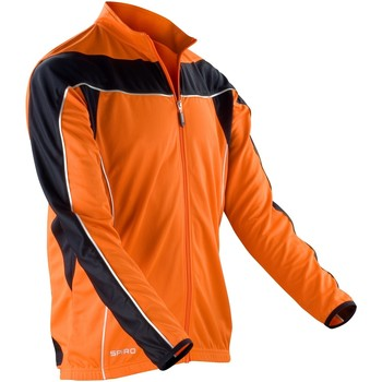 Vêtements Homme Vestes de survêtement Spiro Performance Orange/Noir