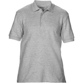 Vêtements Homme Polos manches courtes Gildan Premium Gris