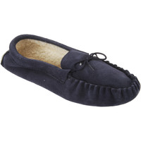 Chaussures Homme Chaussons Mokkers Moccasin Bleu marine