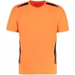 Vêtements Homme T-shirts manches courtes Gamegear KK930 Orange fluo/Noir