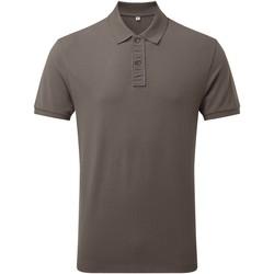 Vêtements Homme Polos manches courtes Asquith & Fox Infinity Gris foncé