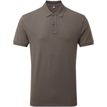 Vêtements Homme Polos manches courtes Asquith & Fox Infinity Gris
