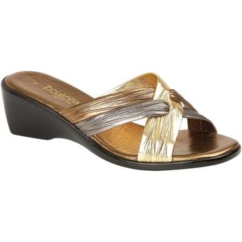 Chaussures Femme Sandales et Nu-pieds Lucia Mule Bronze/Etain/Or