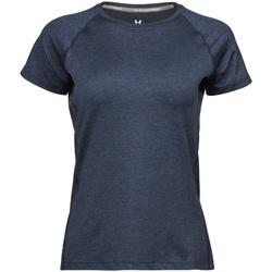 Vêtements Femme Et acceptez notre Polique de Protection des Données Tee Jays Cool Dry Bleu marine chiné