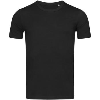 Vêtements Homme T-shirts manches courtes Stedman Stars Morgan Noir