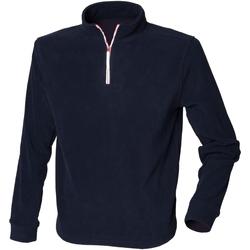 Vêtements Homme Polaires Finden & Hales LV570 Bleu marine/Blanc