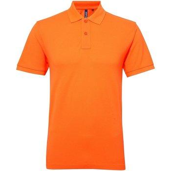 Vêtements Femme Polos manches courtes Asquith & Fox Performance Orange néon