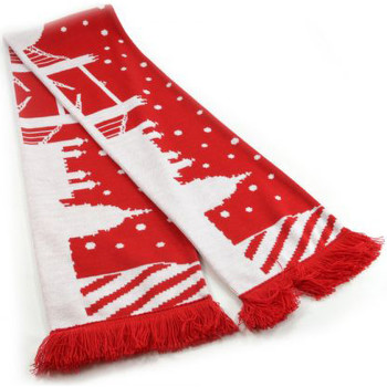 Accessoires textile Echarpes / Etoles / Foulards Universal Textiles  Rouge/Blanc