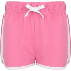 Vêtements Enfant Shorts / Bermudas Skinni Fit Retro Rose