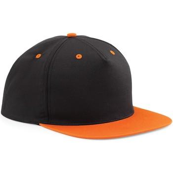 Accessoires textile Casquettes Beechfield Contrast Noir/Orange