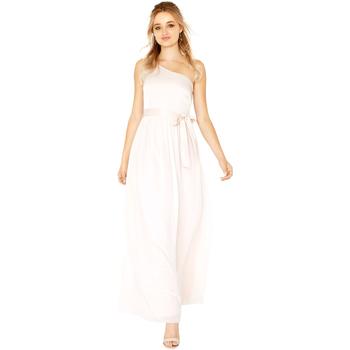 Vêtements Femme Robes longues Little Mistress Satin Nude