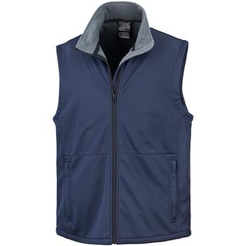 Vêtements Homme Gilets / Cardigans Result R214X Bleu marine
