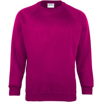 Vêtements Enfant Sweats Maddins Coloursure Framboise