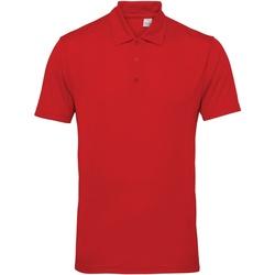 Vêtements Homme Polos manches courtes Tridri Panel Rouge feu