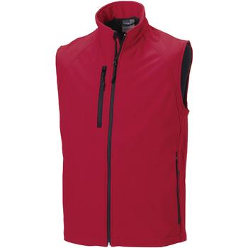 Vêtements Homme Vestes Russell Veste sans manches en Softshell BC1513 Rouge