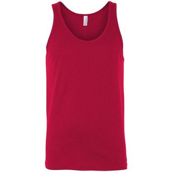 Vêtements Femme Débardeurs / T-shirts sans manche Bella + Canvas Jersey Rouge