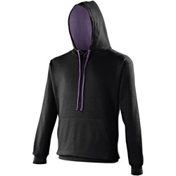 Vêtements Sweats Awdis Hooded Noir / violet