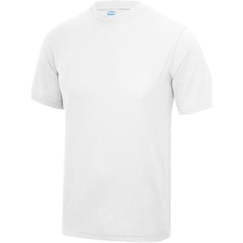 Vêtements Enfant T-shirts manches courtes Just Cool JC01J Blanc arctique