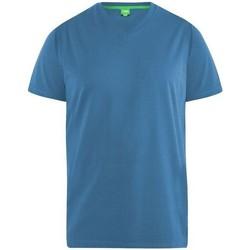 Vêtements Homme T-shirts manches courtes Duke Signature Bleu sarcelle