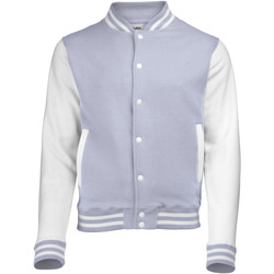 Vêtements Homme Blousons Awdis Varsity Gris/Blanc