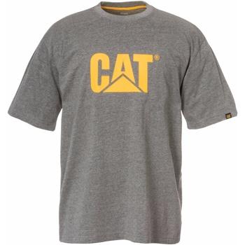 Vêtements Homme T-shirts manches courtes Caterpillar  Gris foncé