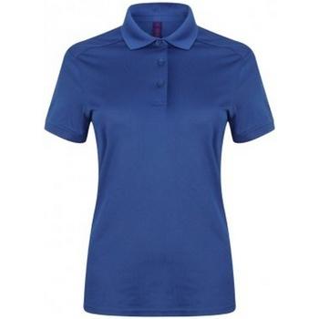 Vêtements Femme Polos manches courtes Henbury HB461 Bleu roi