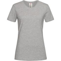 Vêtements Femme T-shirts manches courtes Stedman Organic Gris