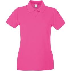 Vêtements Femme Polos manches courtes Universal Textiles Casual Rose électrique
