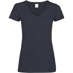 Vêtements Femme T-shirts manches courtes Universal Textiles Value Bleu nuit