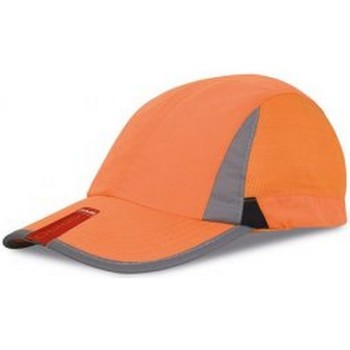 Accessoires textile Casquettes Spiro Baseball Orange/Noir