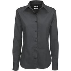 Vêtements Femme Chemises / Chemisiers B And C SWT83 Gris foncé