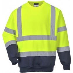 Vêtements Homme Sweats Portwest PW668 Jaune / bleu marine