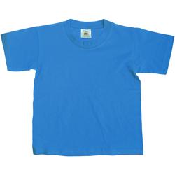 Vêtements Enfant T-shirts manches courtes B And C TK300 Bleu vif