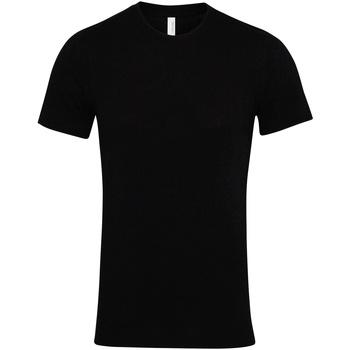 Vêtements T-shirts manches courtes Bella + Canvas Jersey Noir