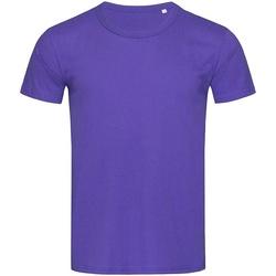 Vêtements Homme T-shirts manches courtes Stedman Stars Stars Violet