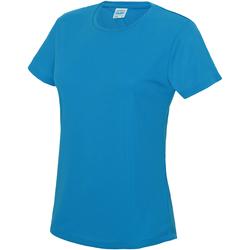Vêtements Femme T-shirts manches courtes Just Cool JC005 Bleu saphir