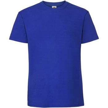 Vêtements Homme T-shirts manches courtes Fruit Of The Loom Premium Bleu roi