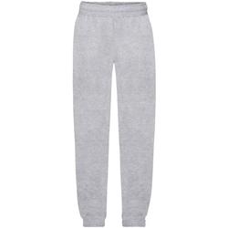 Vêtements Enfant Pantalons de survêtement Fruit Of The Loom Premium Gris