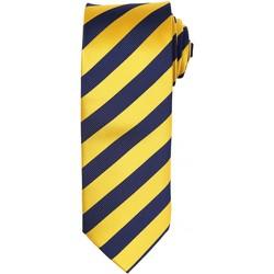 Vêtements Homme Cravates et accessoires Premier PR786 Or/Bleu marine