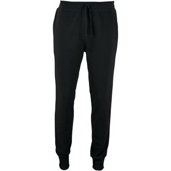 Vêtements Homme Pantalons de survêtement Sols Slim Fit Noir