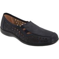 Chaussures Femme Mocassins Boulevard Gusset Bleu marine